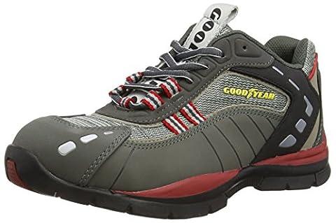 Goodyear Gyshu3011, Chaussures de sécurité Unisexe adulte - Gris - Gris, 42 EU (8 UK)