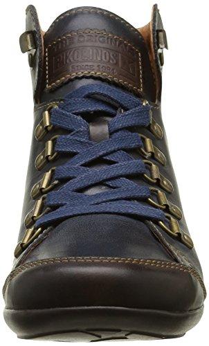 Pikolinos Lisboa W67 I16, Baskets Hautes Femme Bleu (Navy Blue)