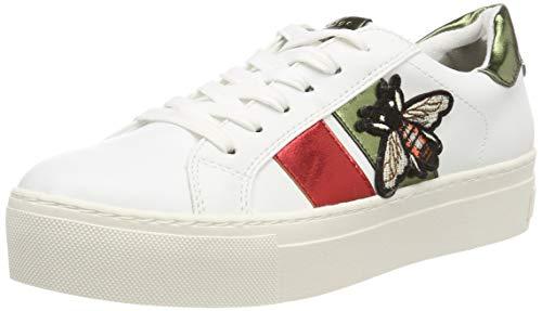 MARCO TOZZI Damen 2-2-23721-32 Sneaker, Weiß (White Comb 197), 39 EU