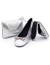 Amazon.es  Plateado - Bolsos para mujer   Bolsos  Zapatos y complementos aac380f26fdb