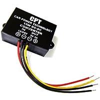 Impermeable DC de DC de versiones corriente 12V/24V a 5V 3A Step Down Voltaje Corriente Fuente de alimentación Módulo para coche de audio indicador LED, etc.
