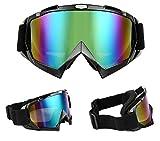 Tmei Professional Bendable Frame Vapeur Anti-poussière Sports Googles Eyewere Lunettes pour Motocross Essais hors route Casque Enduro ATV Dirt Bike Motorcycle