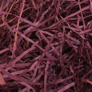 Burgund Zerrissenes Papier 4kg Tasche
