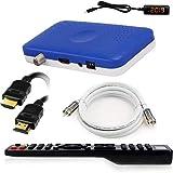 Récepteur Mini Sat hd-line HD-90 - Récepteur Satellite S / S2 Full HD 1080 P HDMI 2 x USB 2.0 HDTV [Récepteur Satellite Numérique] ️{Astra Hotbird Türksat} ️