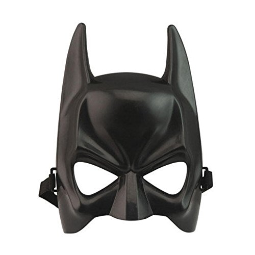 SYMTOP Held Maske Batman Erwachsene Maskerade Party Gesichtsmaske Halloween Kostüm Because I am Batman (Batman Halloween Maske)