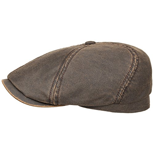 brooklin-old-cotton-coppola-stetson-cotton-cap-cappello-piatto-l-58-59-marrone