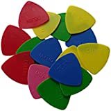 Delrin BGDelrin 40 Picks For Triangular Guitar( Random color)