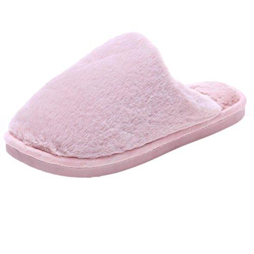OVERMAL Women Antiskid Love Print Flat Bath Slippers Indoor & Outdoor Slippers Rose