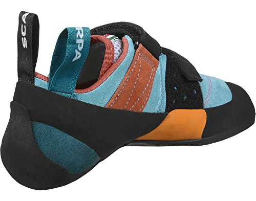 "Herren Kletterschuhe ""Force V"" blau schwarz orange"