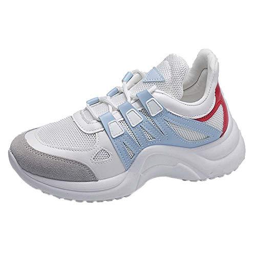 UFACE Mesh Atmungsaktive Damen Schuhe Fashion Sneakers Lace Up Soft High Freizeit Footwears