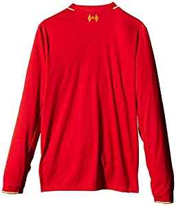 47c1dcb85 New Balance Liverpool Kids (Boys Youth) Long Sleeve Home Football Shirt  2015 2016 from New Balance
