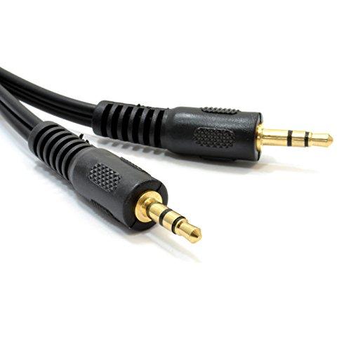 kenable 003054 Audiokabel 0,15 m 3,5 mm schwarz - 3,5 mm Klinkenstecker, 3,5 mm, männlich, 0,15 m, schwarz
