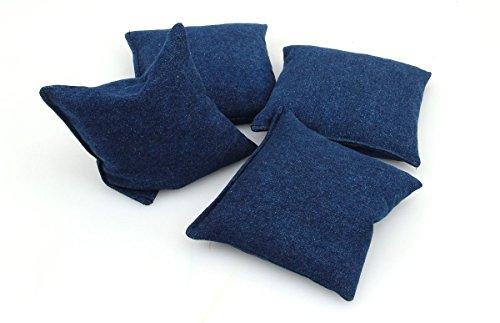 Preisvergleich Produktbild Cornbags Jeans blau für Cornboard Cornhole Spiel (4 Stück) - Made in Germany