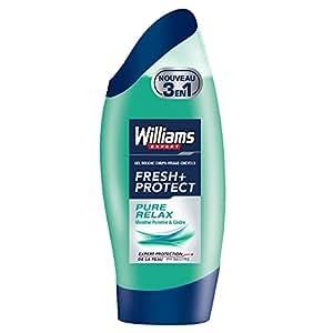 Williams Fresh Protect + Pure Relax 250 ml - Lot de 3