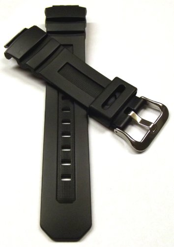 Genuine Casio Replacement Watch Strap 10273059 for Casio Watch AWG-M100F-1BD, AW-590-1AW + Other models