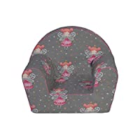 MuseHouse Childrens Chair I Armchair I Children Room Sofa Seat Stool l Kids Toddlers I Childs Sofa seat (BUTTERFLY-MHF131)