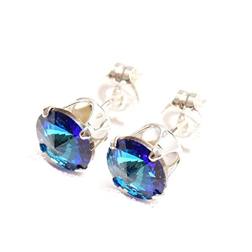 end-of-line-clearance-925-sterling-silver-stud-earrings-expertly-made-with-sparkling-bermuda-blue-cr