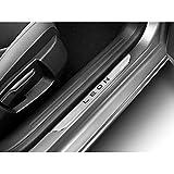Seat 5F0071691C Acero Inoxidable listones de umbral de puerta listones Moldura 2x delantero (sólo para 5puertas)