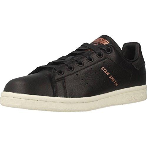 adidas Stan Smith W Chaussures de Gymnastique Femme Noir