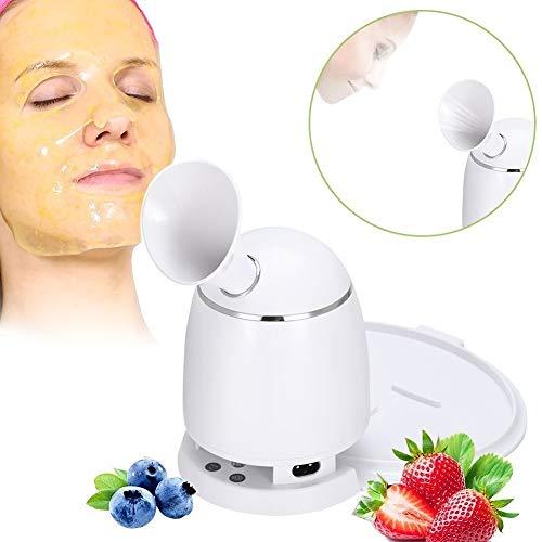 2 en 1 Machine de Masque + Vapeur Faciale DIY Masque Naturel de Fruits et de Légumes Anti-ride Hydratant la Peau Nettoyage des Pores