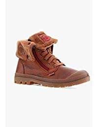 Palladium - Baggy Leather S - 82610296 - Color: Marrón - Size: 39.5