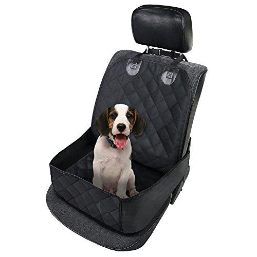 KINGDUO Pet Seat Deckt Wasserdichte Auto Einzelplatz Front Abdeckung Für Hund Haustier Sitzschutz Pet Mat