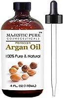 Majestic Pure Natural Moroccan Argan Oil, 4 fl oz