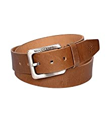Woodland Mens Camel Brown Belt Art BT1012CAM (38)