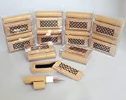 Gift Lounge 12pcs Incense Burners with 20 pcs Cambodian Oud each, Size 7cm- Wooden