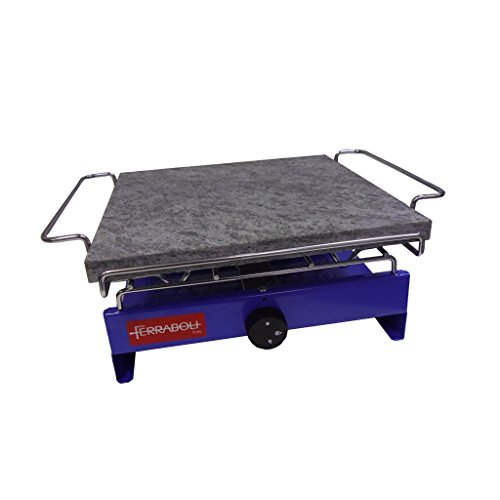 Ferraboli – Barbecue (2000 W, barbecue, gaz, table, à repasser, bleu)