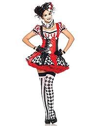 Leg Avenue Harlekin Clown Kostüm