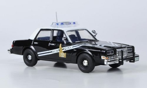 Police Idaho (Dodge Diplomat, Idaho State Police, 1985, Model Car, Ready-made, First Response 1:43 by Dodge)