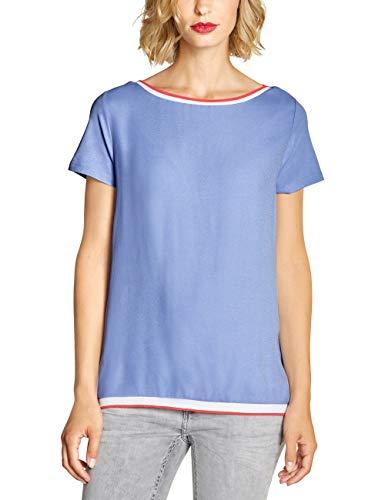 Street One Damen 313799 T-Shirt, Heaven Blue, (Herstellergröße:40) Bund Shirt
