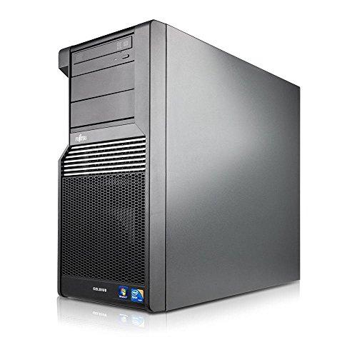 Galleria fotografica Fujitsu - Celsius W370 TOWER Intel® Core™2 Quad Processor Q9550 (12M Cache, 2.83 GHz, 1333 MHz FSB) 8GB DDR3, HDD 750GB, DVD. Windows 10 Home, ricondizionato certificato.