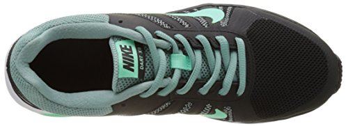 Nike 831535-005 Damen Trail Runnins Sneakers Schwarz (Black/green Glow/cannon/white)