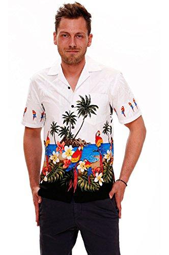 PLA-Camisa-casual-cuello-en-V-manga-34-para-hombre