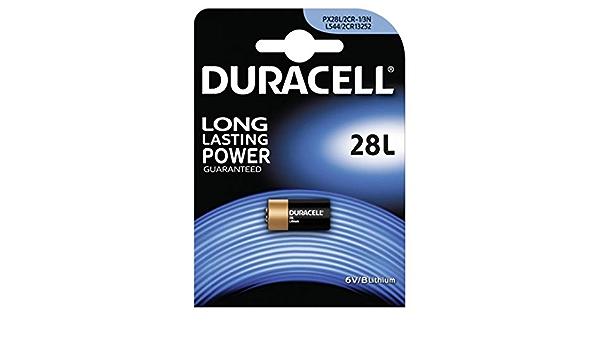 Foto Batterie Duracell Typ Px28 1 Blister 6 V Lithium Elektronik