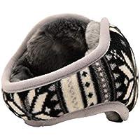 SUPRERHOUNG Gafas Protectoras Winter Earwarmer engrosadas y Orejeras de Ciclismo (Gris)