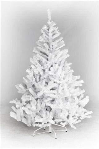 kunstpflanzen-discount.com Künstlicher Christbaum weiß Oslo Höhe 210cm, mit 1085 Nadeln schwer entflammbar