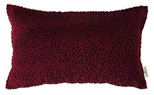 Tom Tailor 562378 - Funda para cojín (algodón), diseño con lunares aterciopelados