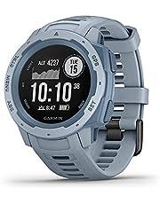 Garmin Instinct Seafoam Rubber Smart Watch (Blue)