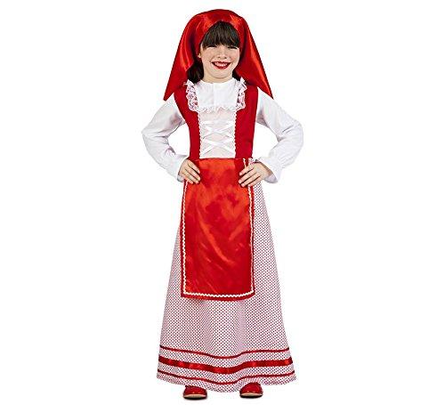 Imagen de disfraz de pastora de belén para niña