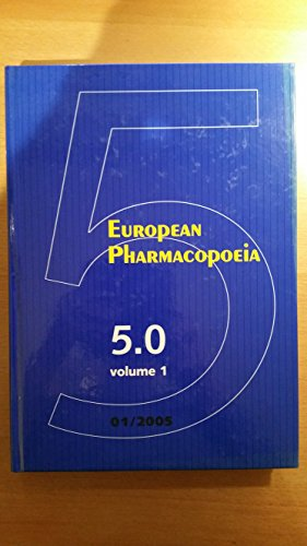 European Pharmacopoeia : 2 volumes, édition en anglais