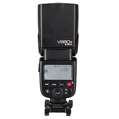 Godox vING V860N Kit i-TTL Flash Speedlite avec chargeur Li-on rechargeable pour Nikon D7000D90DSLR