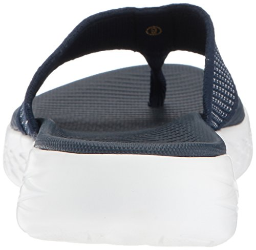 Skechers Women's 15300 Open Toe Sandals, Blue (Navy/White), 5 UK 38 EU