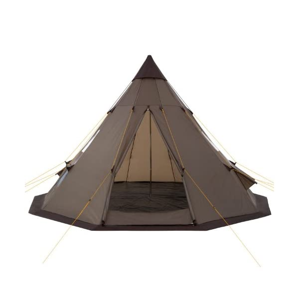 CampFeuer - Teepee Tent, Tipi brown 3