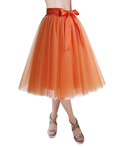 dresstells women knee length tulle skirt evening gown prom formal skirt - 41GhXKPbzQL - Dresstells Women Knee Length Tulle Skirt Evening Gown Prom Formal Skirt