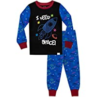 Harry Bear Boys Pyjamas I Need Space Snuggle Fit Multicoloured Age 2 to 3 Years