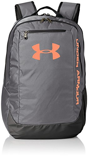 Under Armour UA Hustle Backpack Ldwr Mochila, Hombre, Gris (076), One Size