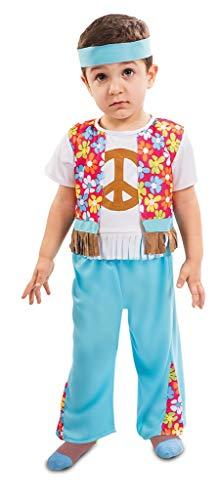 (Enter-Deal-Berlin Kinderkostüm Kleiner Hippie Junge Größe 80-91 cm ( 12-24 Monate ) bunt)